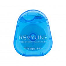 Зубная нить вощеная Revyline PTFE, мятная, 50 м